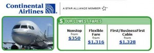 $350 fare to Newark is Loaded!