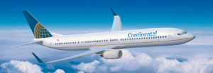 Continental Non Stop flight from Newark to Curacao